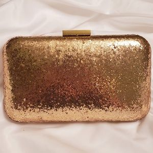 Reduced🔥J.Crew Glitter Clutch Purse